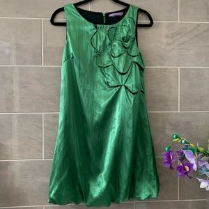 SugarLips emerald green balloon bottom dress